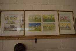 QUANTITY OF PRINTS, MAINLY GOLFING RELATED