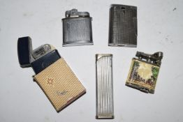 BOX CONTAINING THREE LIGHTERS