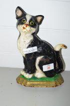 METAL DOORSTOP MODELLED AS A CAT