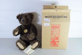 STEIFF COLLECTABLE BEAR IN ORIGINAL BOX