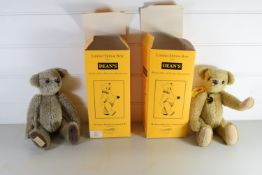 PAIR OF LIMITED EDITION TEDDY BEARS BY THE DEAN'S RAG BOOK COMPANY LIMITED IN ORIGINAL BOXES