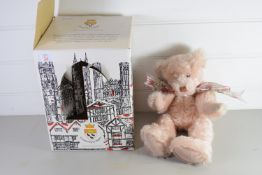 BOXED MODEL OF A BEAR BY CANTERBURY BEARS IN ORIGINAL BOX