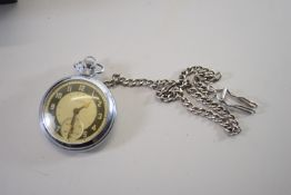POCKET WATCH BY INGERSOL, WITH FESTIVAL OF BRITAIN LOGO VERSO