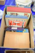 BOX CONTAINING BOOKS ON SAILING, PHOTOGRAPHY ETC