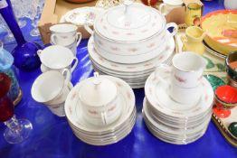 CERAMICS, TUREEN, DINNER PLATES ETC