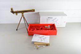 OPTICHRON ANTIQUE ASTRONOMICAL TELESCOPE IN ORIGINAL BOX