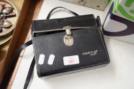 BOX CONTAINING PAIR OF TASCO BINOCULARS