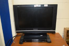 """SONY VIERA 19"""" FLAT SCREEN TV AND A HUMAX DIGIBOX"""