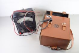 ELECTRICAL TESTING KIT IN LEATHER CASE