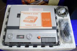 TELETON 710 TAPE RECORDER
