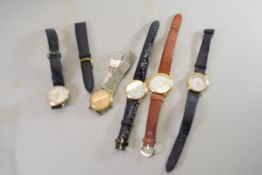 BAG CONTAINING GENTS WRIST WATCHES