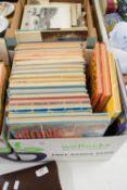 BOX CONTAINING CHILDREN'S ANNUALS