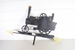 WEATHERVANE MODELLED AS A TRACTOR