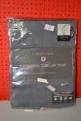 PAIR OF LUXURY LIVING RING TOP CURTAINS 66 X 54INCH