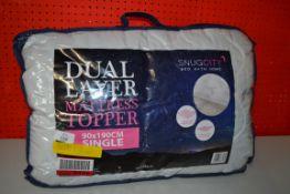 SNUG CITY DUAL LAYER MATTRESS TOPPER 90 X 190CM (SINGLE)