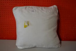 SQUARE WHITE FUSION SCATTER CUSHION