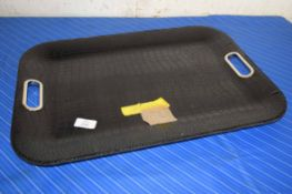 ALLIGATOR EFFECT SERVING TRAY, APPROX 55 X 40CM