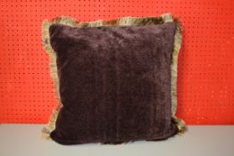 LUXURY FEATHER FILLED CUSHION 500MM SQUARE