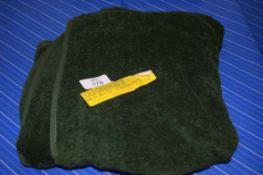HAND TOWEL IN BOTTLE GREEN