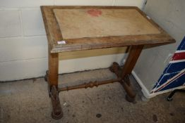 CIRCA 1920S SEWING TABLE, APPROX 80 X 51CM