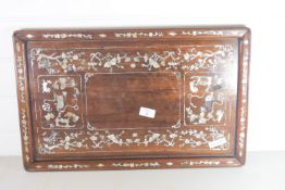 TRAY WITH ORIENTAL STYLE INLAY