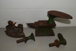 FLATIRON AND OTHER SHOE REPAIR IMPLEMENTS