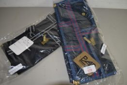 TWO SHOPPING BAGS MADE BY R A B INTERNATIONAL