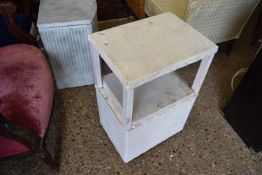 SMALL BEDSIDE CABINET, WIDTH APPROX 41CM