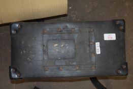 METAL BOX CONTAINING A WATER PUMP