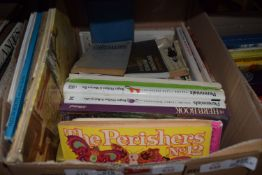 BOX OF MIXED BOOKS - SOME SCIENCE AND GARDENING