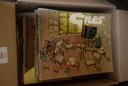 BOX OF GILES CARTOONS