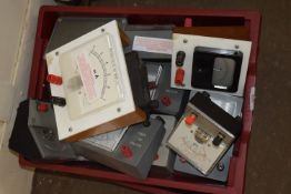 BOX CONTAINING ELECTRICAL METERS