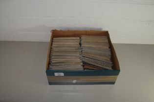 BOX CONTAINING POSTCARDS, VARIOUS INTEREST, TOPOGRAPHICAL, BIRTHDAY WISHES ETC