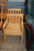 PAIR OF PINE CHILDREN'S CHAIRS, EACH WIDTH APPROX 40CM