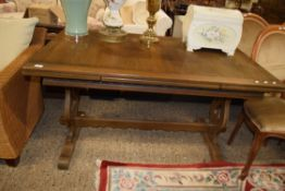 FOLDING REFECTORY TYPE TABLE, APPROX 136 X 82CM