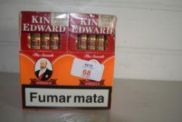 BOXED KING EDWARD CIGARS