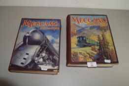TWO VINTAGE MECCANO MAGAZINES FROM 1937 AND 1938