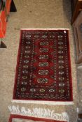SMALL RUG, APPROX 94 X 66CM
