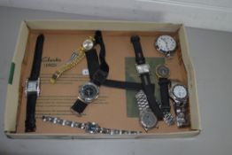 BOX CONTAINING WRIST WATCHES
