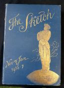 THE SKETCH, A JOURNAL OF ART AND ACTUALITY, London, The Illustrated London News and Sketch, 1906-07,
