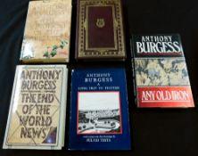 ANTHONY BURGESS: 10 titles: DEVIL OF A STATE, London, Heinemann, 1961, 1st edition, original