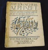 ELEANOR FARJEON: THE TOWN CHILD'S ALPHABET, ill David Jones, London, The Poetry Bookshop 1924, 1st