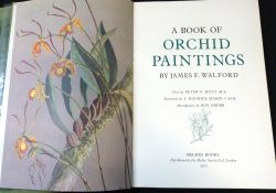 JAMES F WALFORD: A BOOK OF ORCHID PAINTINGS, text Peter F Hunt, foreword L Maurice Mason,
