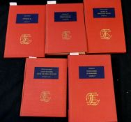 THE ENGLISH EXPERIENCE, ITS RECORD IN EARLY PRINTED BOOKS PUBLISHED IN FACSIMILE, 5 assorted titles: