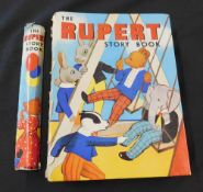 MARY TOURTEL: THE RUPERT STORY BOOK, London, Samson, Lowe, Marston & Co, [1938], contemporary ink
