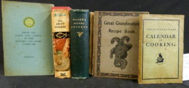 MARY JEWRY (ED): WARNE'S MODEL COOKERY AND HOUSEKEEPING BOOK, London, Frederick Warne, 1868, 1st