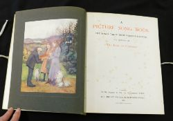 GEORGE JAMES HOWARD, EARL OF CARLISLE (ED/ILL): A PICTURE SONG BOOK, THE SONGS TAKEN FROM VARIOUS