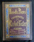 THOMAS HOOD: POEMS, ill Birket Foster, London, E Moxon Son & Co, 1872, large paper, 22 engraved