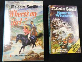 MALCOLM SAVILLE: 2 titles: WHERE'S MY GIRL, London, Collins, 1972, 1st edition, original cloth,
