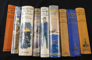 PERCY FRANCIS WESTERMAN: 6 titles: THE SECRET OF THE PLATEAU, ill W Edward Wigfull, London, Blackie,